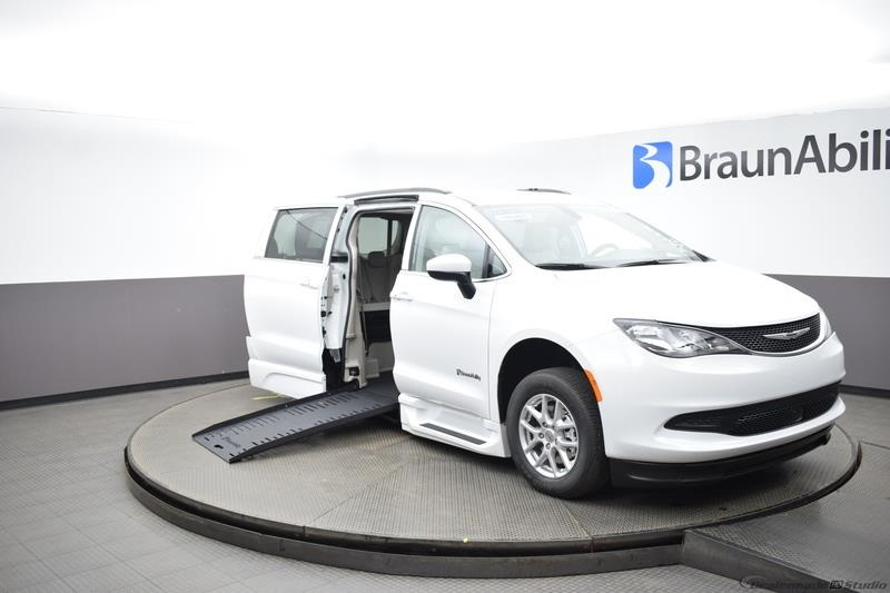 2021 Bright White Chrysler Voyager LXI with BraunAbility XT Conversion
