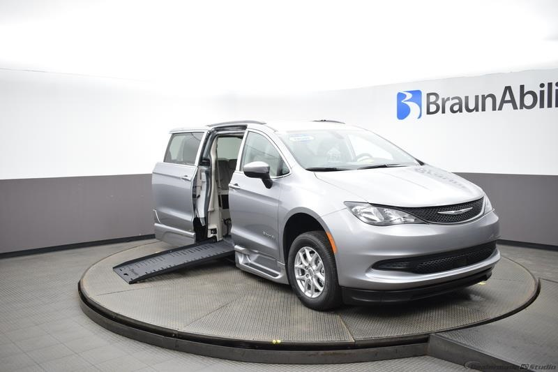 2021 Billet Silver Chrysler Voyager LXI with BraunAbility XT with Conversion