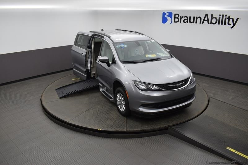 2021 Billet Silver Chrysler Voyager LXI with BraunAbility XT Conversion